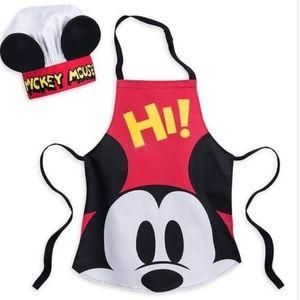 NWT-Disney kids chef apron and hat.